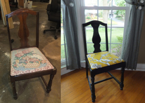antique chair dwell studio fabric perfection power